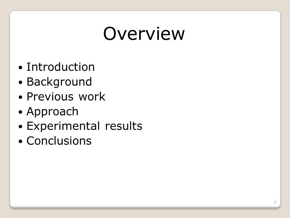 Introduction VLSI design flow HDL (Verilog, VHDL) Logic optimization Physical design 3