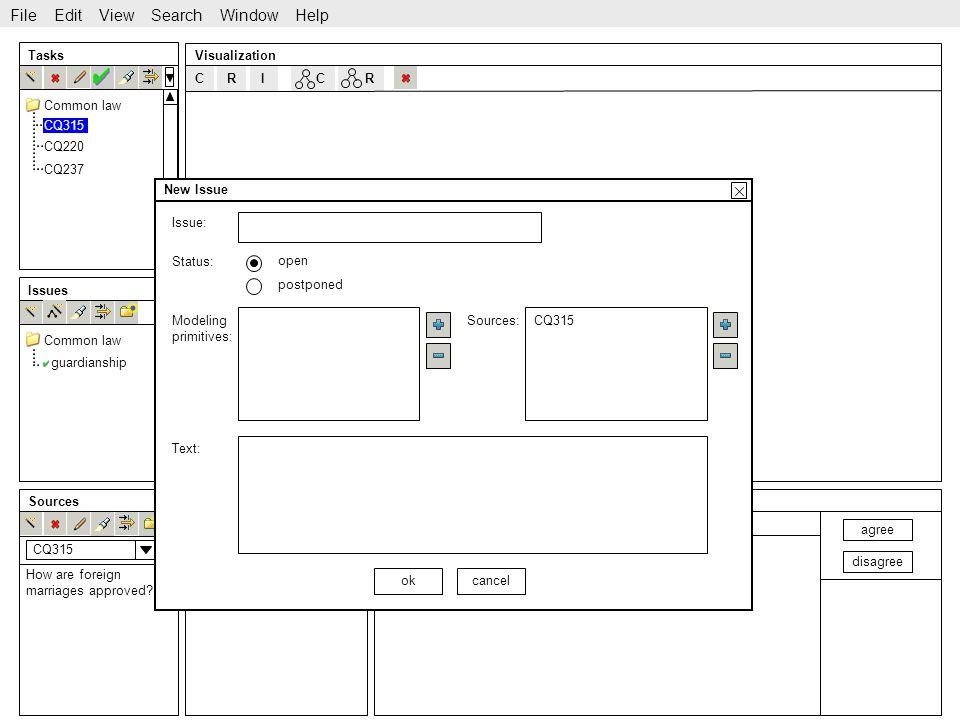 http://www.sekt-project.com C Tasks Issues SourcesIdeas Visualization CQ220 CQ237 guardianship File Edit View Search Window Help Common law CRRI agree