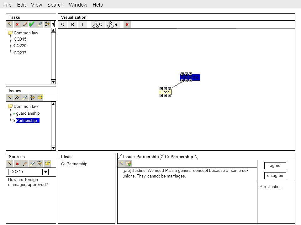 http://www.sekt-project.com C Tasks Issues SourcesIdeas Visualization CQ315 CQ220 CQ237 guardianship File Edit View Search Window Help Common law CRRI