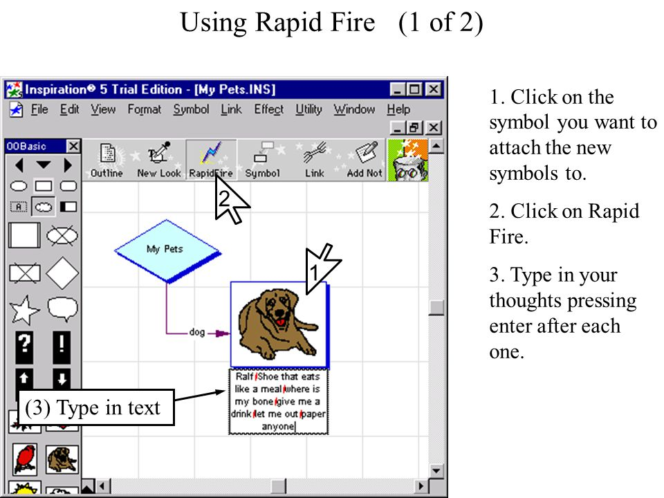 Using Rapid Fire Using Rapid Fire (1 of 2) 1.