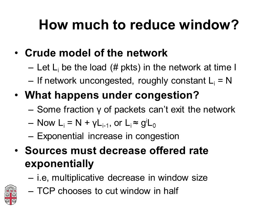 How much to reduce window.