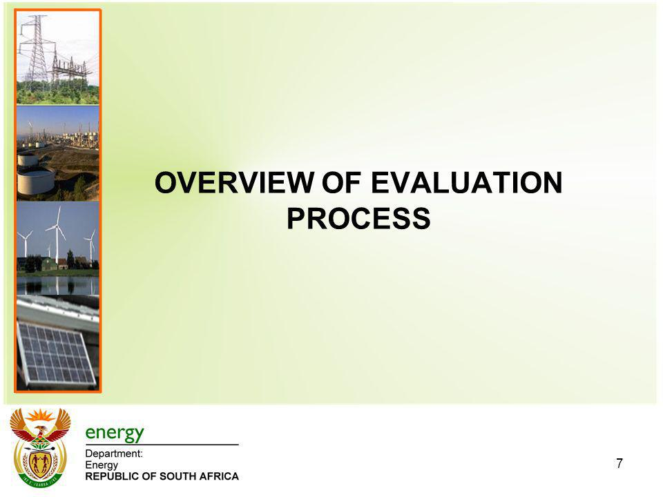 OVERVIEW OF EVALUATION PROCESS 7