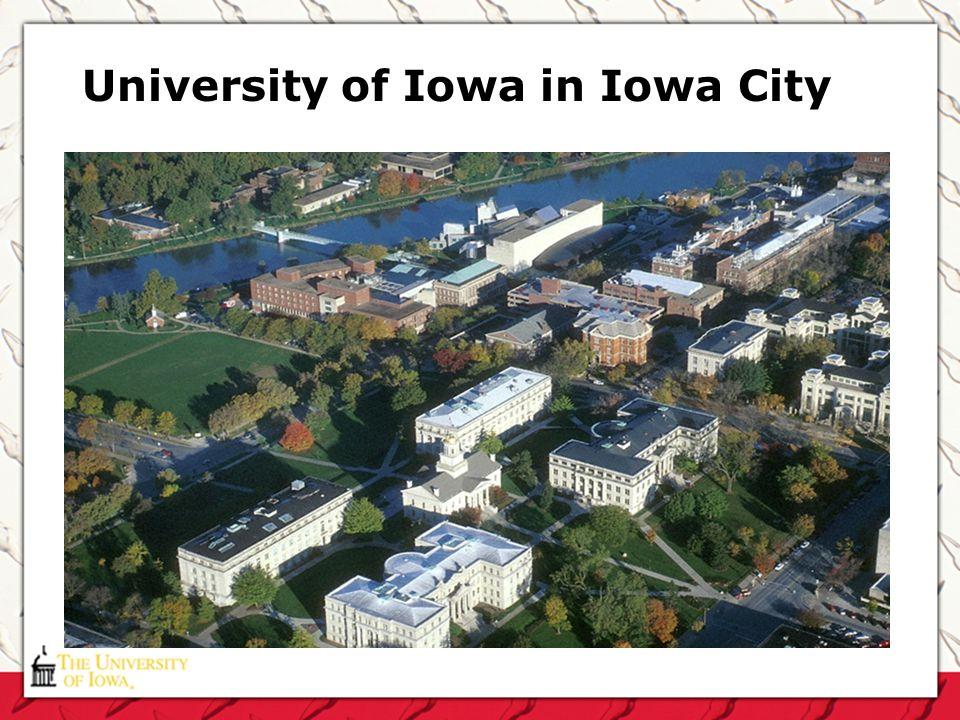 University of Iowa in Iowa City