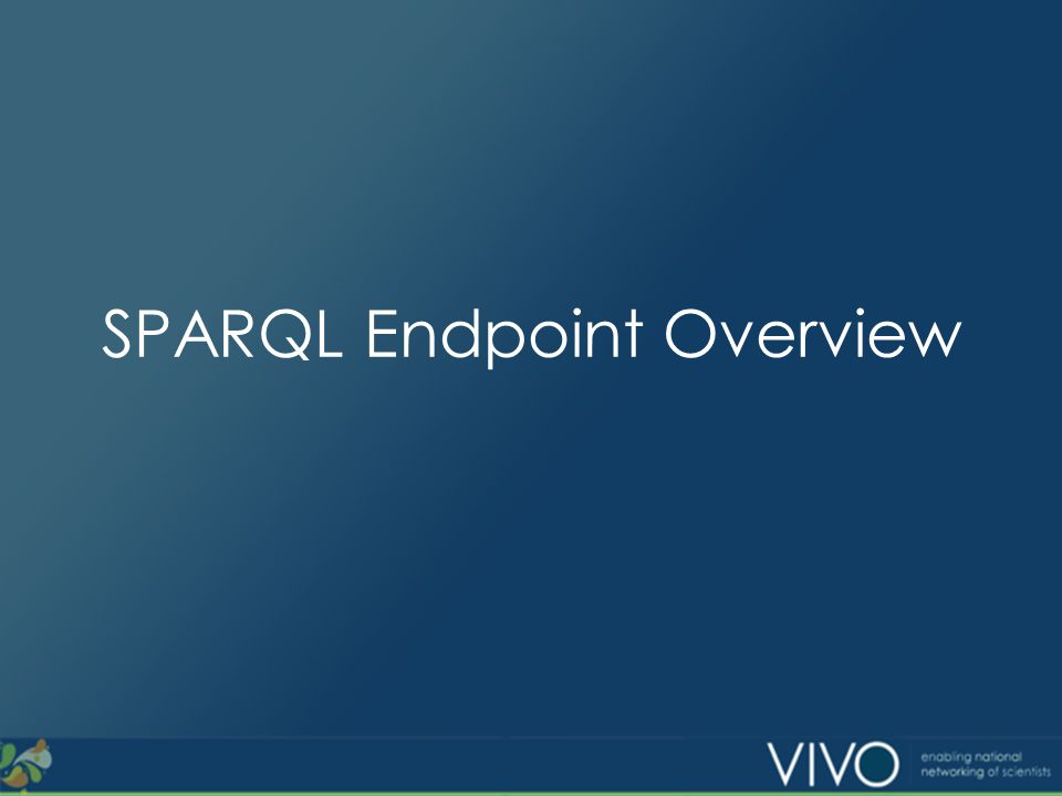 What is a SPARQL endpoint.