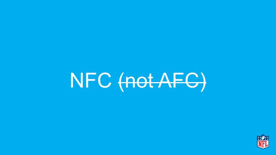 NFC (not AFC)