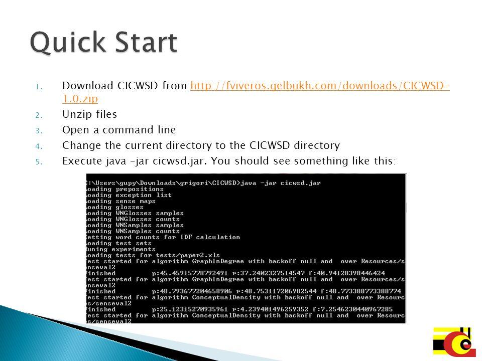 You can configure your own experimental setup through modifying config.xml file.