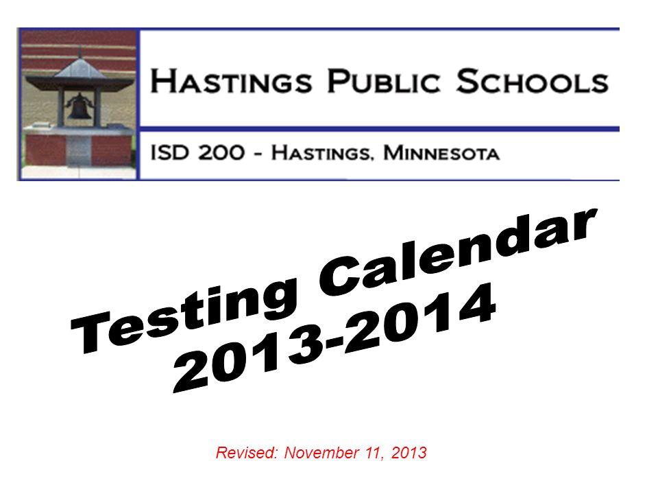 Revised: November 11, 2013