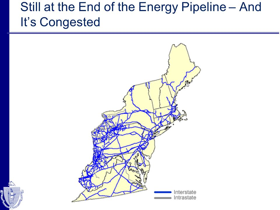 Still at the End of the Energy Pipeline – And Its Congested