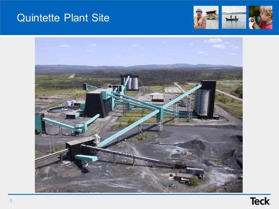Quintette Plant Site 5