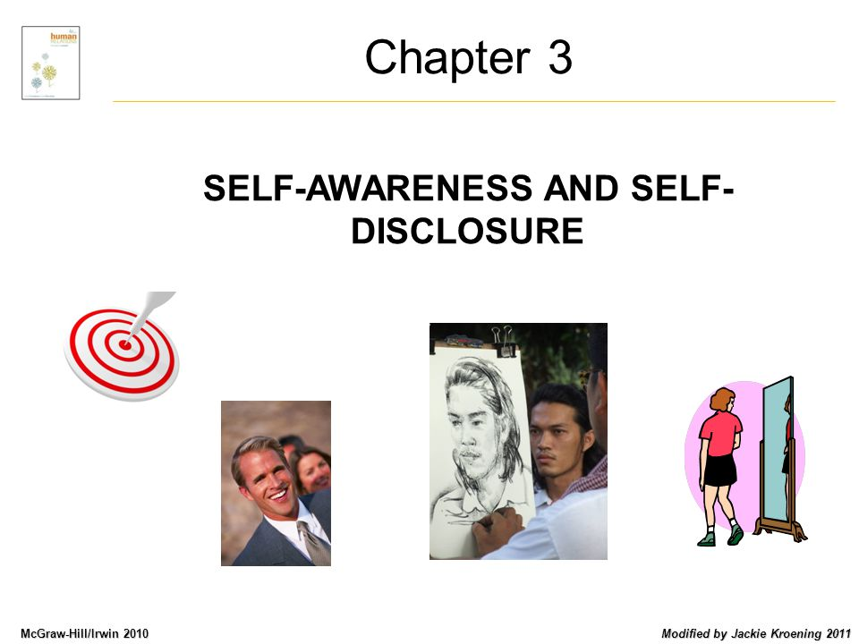 Parts taken from Human Relations 4ed Level 5: Cliché Conversation: It is the level of communication with the least amount of self-disclosure.