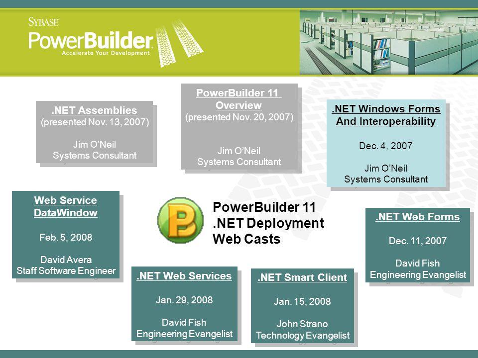 .NET Assemblies (presented Nov. 13, 2007) Jim ONeil Systems Consultant.NET Assemblies (presented Nov. 13, 2007) Jim ONeil Systems Consultant.NET Web F
