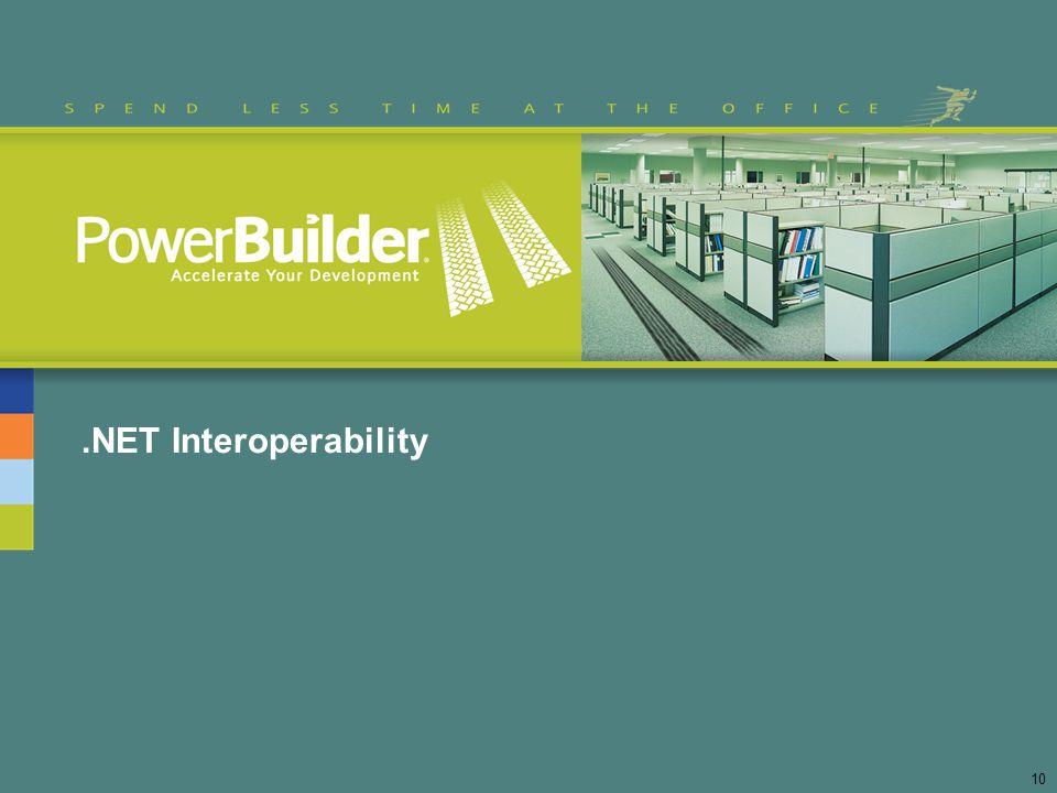 .NET Interoperability 10