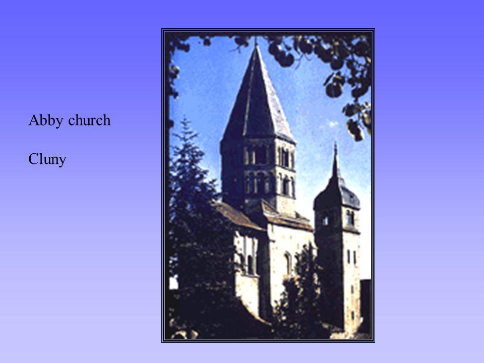 Abby church Cluny