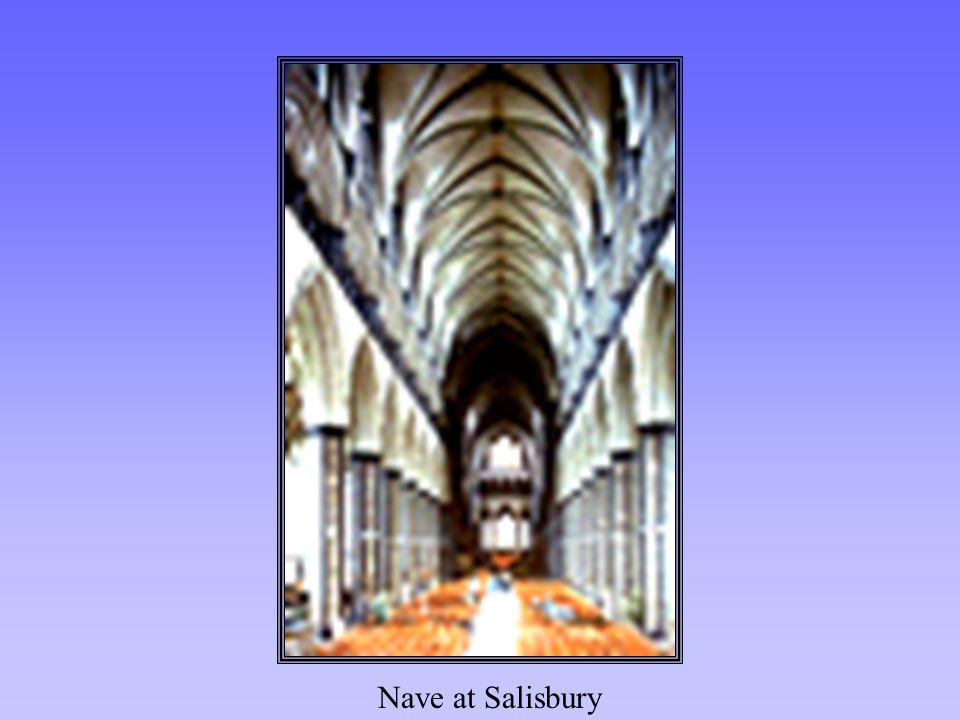 Nave at Salisbury