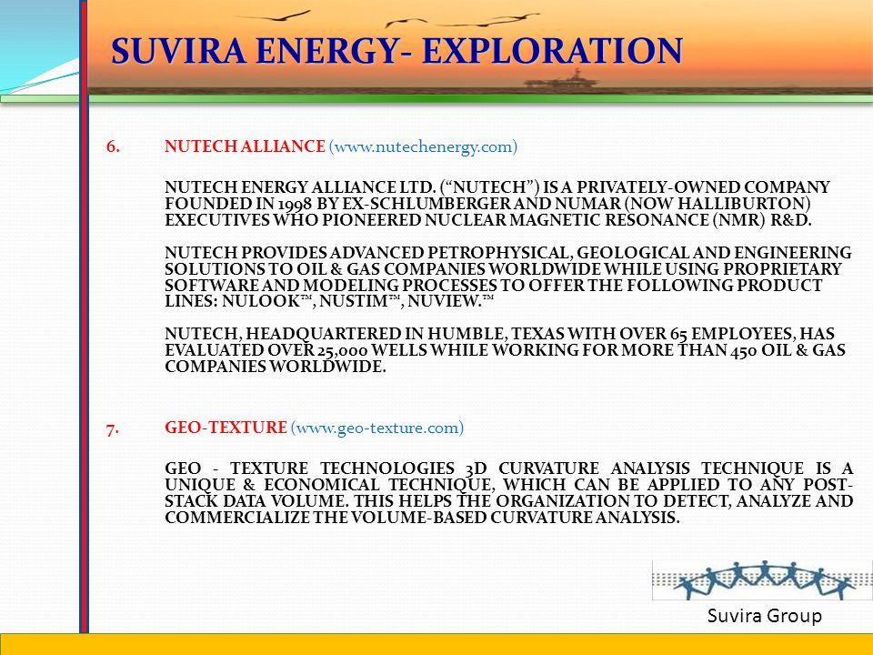 Suvira Group 4.SEISMIC MICRO TECHNOLOGY (www.seismicmicro.com) SINCE 1984, SEISMIC MICRO-TECHNOLOGY, INC. (SMT) HAS OFFERED GEOSCIENCE COMPUTER SOFTWA