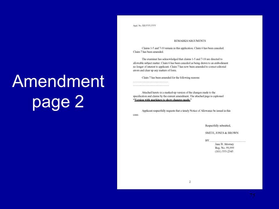 75 Amendment page 2