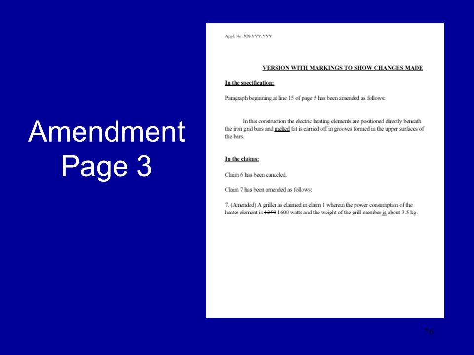 76 Amendment Page 3