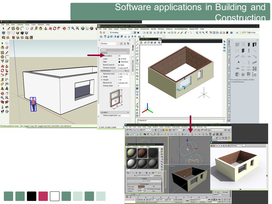 Software applications in Building and Construction