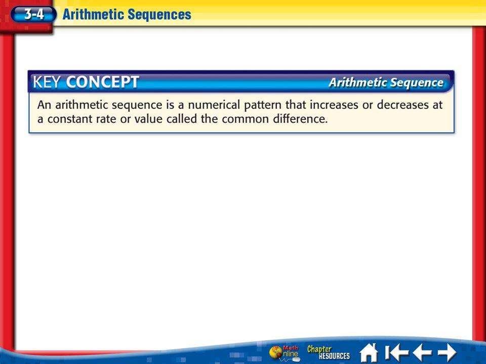 Lesson 3-4 Key Concepts 1