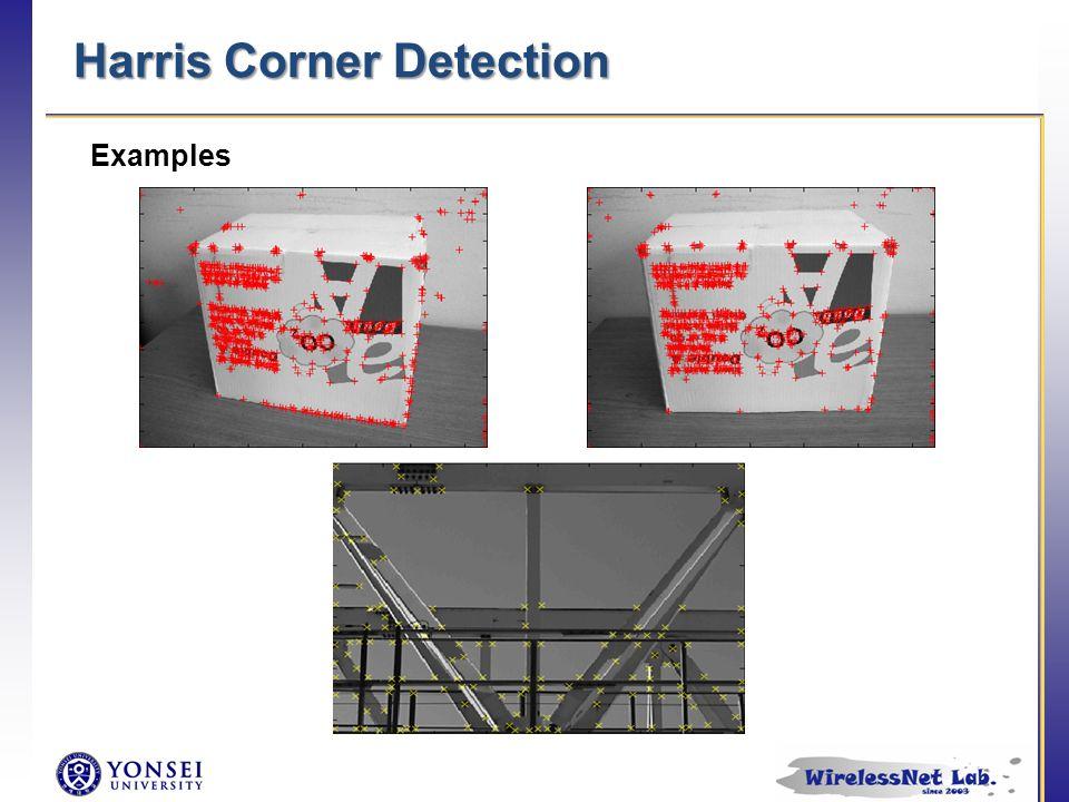Harris Corner Detection Examples