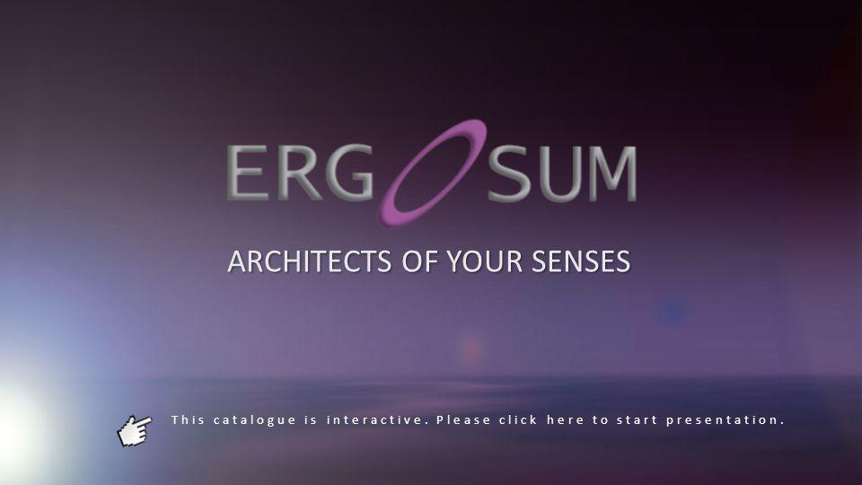 Ergo Lum ERGO EFADEERGO AIR Light is essential to bring to life place: Ergo Sum is part of an innovative in this sense with the Ergo Lum.