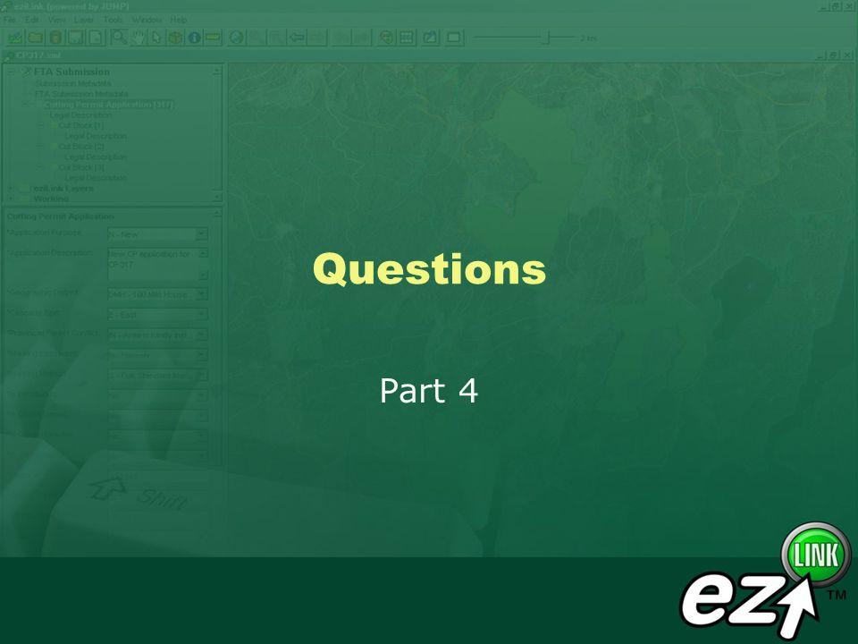 Questions Part 4