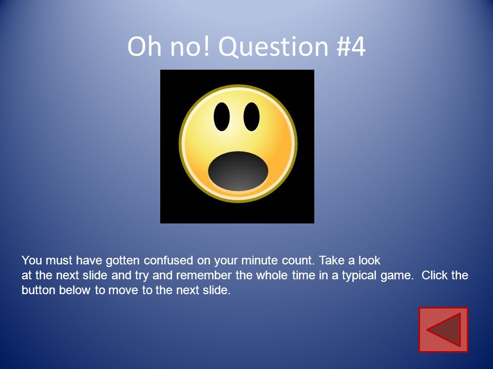You rocked question #3.