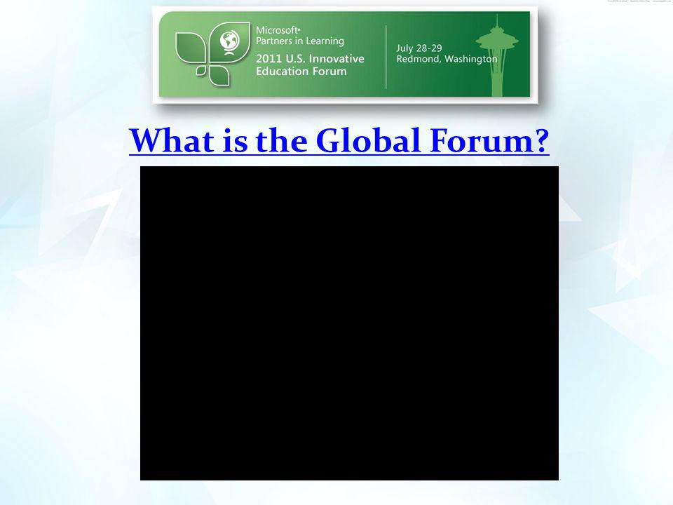 What is the Global Forum
