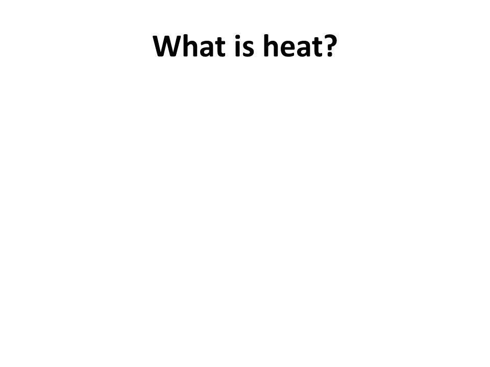 How is Heat Measured? Thermometer – instrument used to measure temperature
