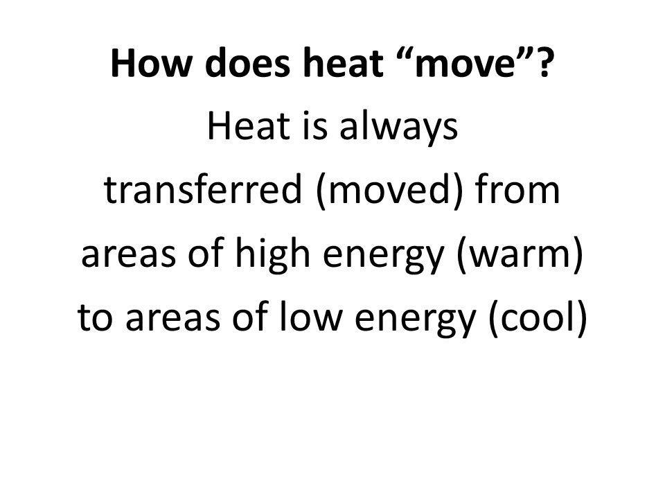 Calculating heat energy
