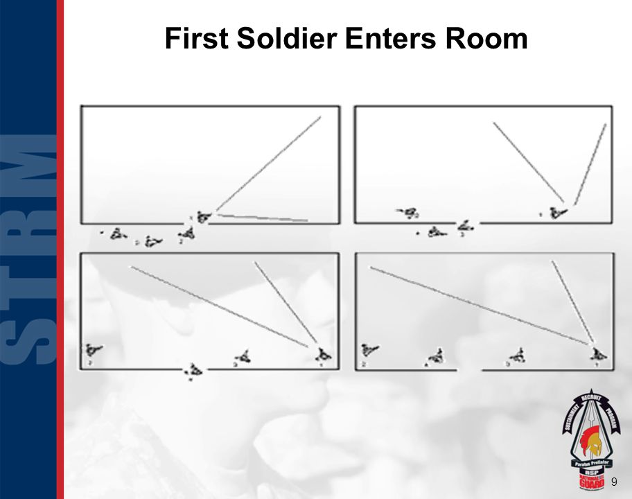 9 First Soldier Enters Room