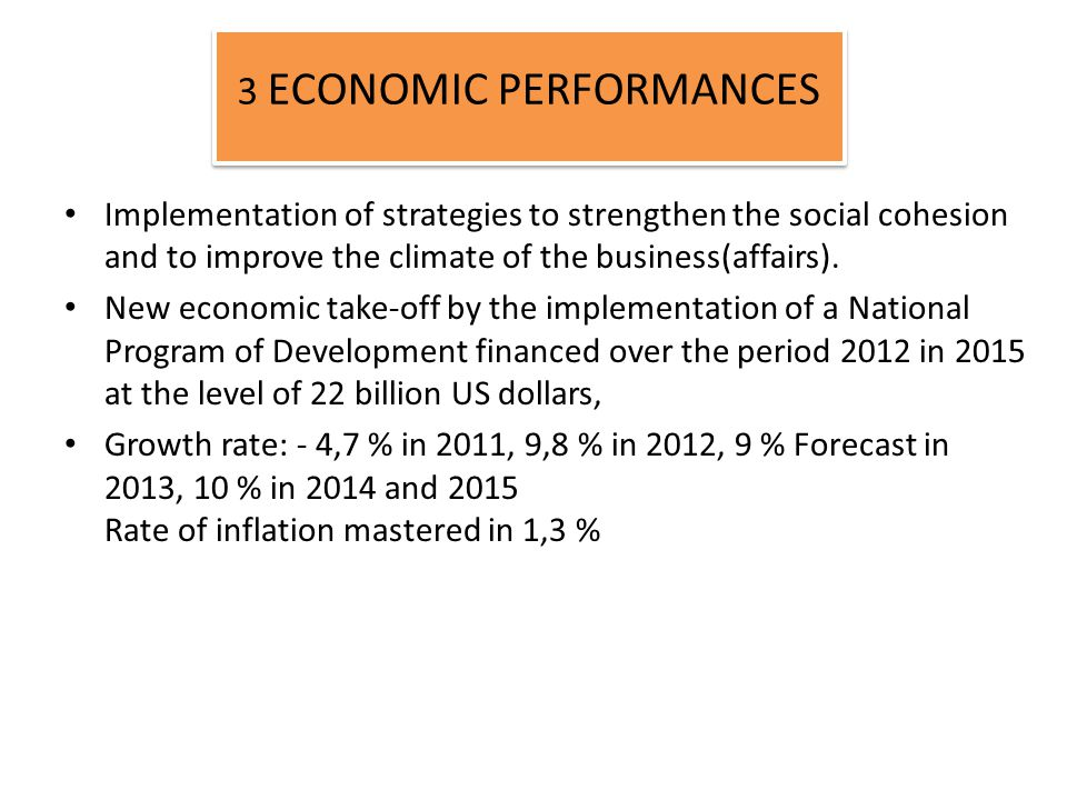 Implementation of strategies to strengthen the social cohesion and to improve the climate of the business(affairs).