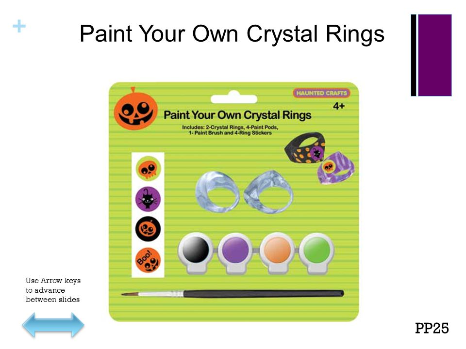 + Paint Your Own Crystal Rings PP25 Use Arrow keys to advance between slides