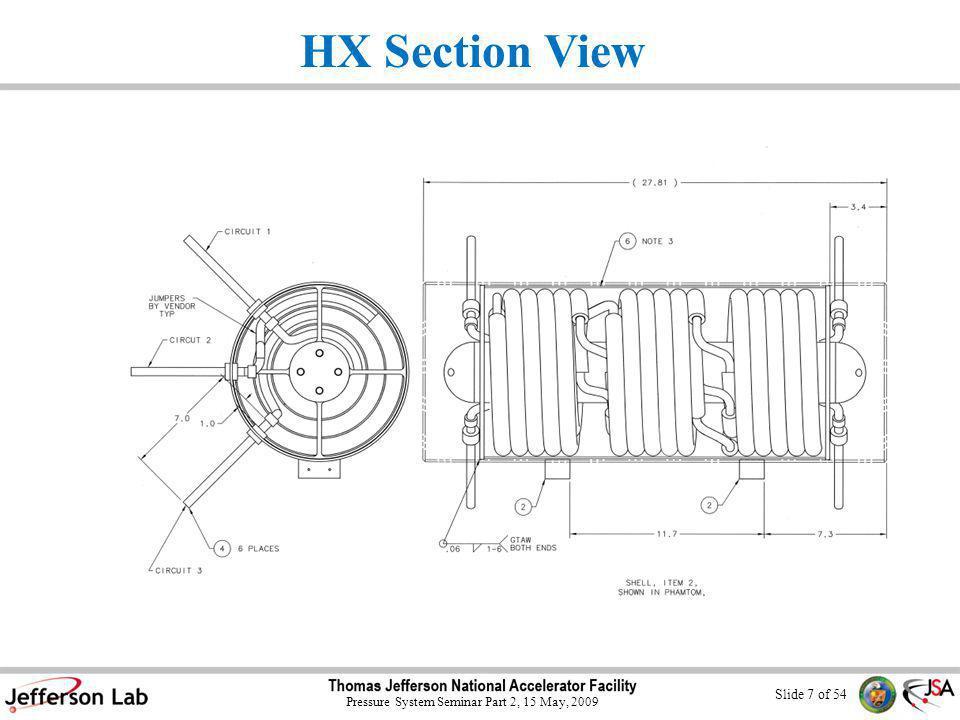 Slide 37 of 54 Pressure System Seminar Part 2, 15 May, 2009 3 Bayonet Test Can 100 psi Rating