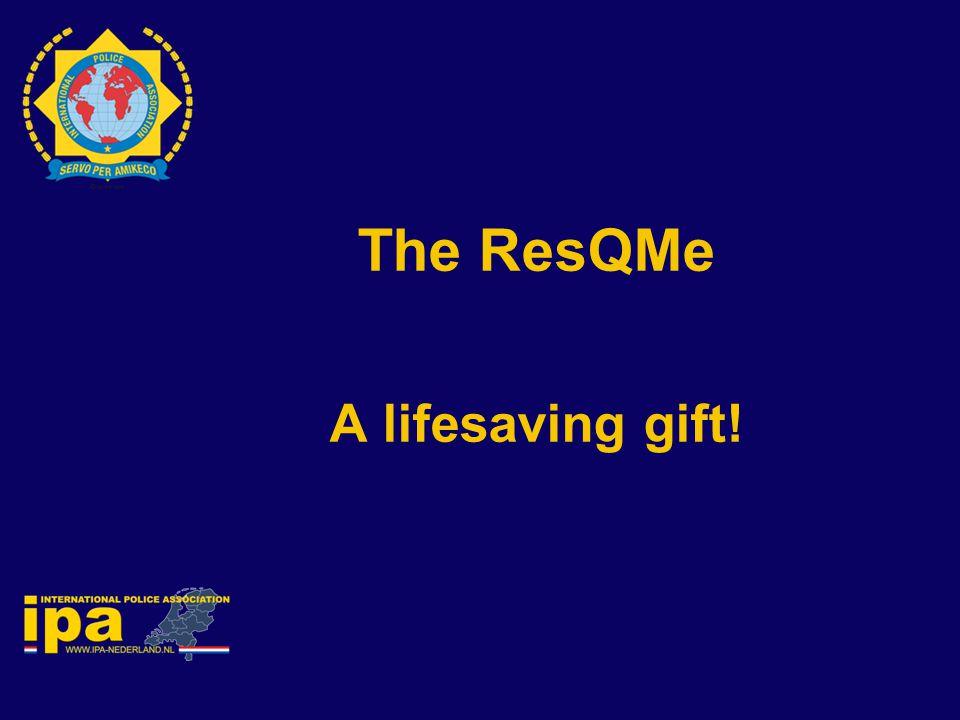 The ResQMe A lifesaving gift!