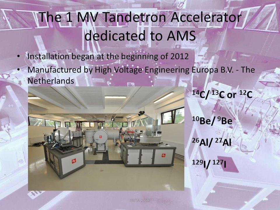 3 MV Tandetron for IBA IWTA 2012