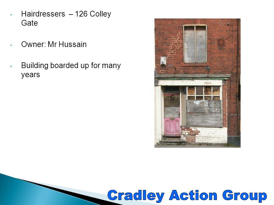 Cradley Action Group C/O The Laurels 100 Windmill Hill Colley Gate Halesowen West Midlands B63 2BY Tel: 0121 602 1812 Email: the-laurels@live.co.ukthe-laurels@live.co.uk http://cradley.org/ https://www.facebook.com/pages/Cradley-Action- Group/128736750646523?fref=ts https://www.facebook.com/pages/Cradley-Action- Group/128736750646523?fref=ts