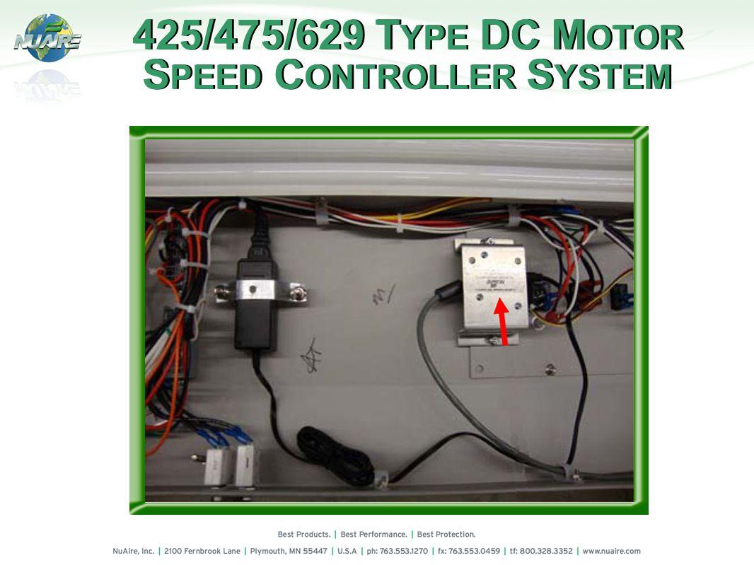 425/475/629 T YPE DC M OTOR S PEED C ONTROLLER S YSTEM