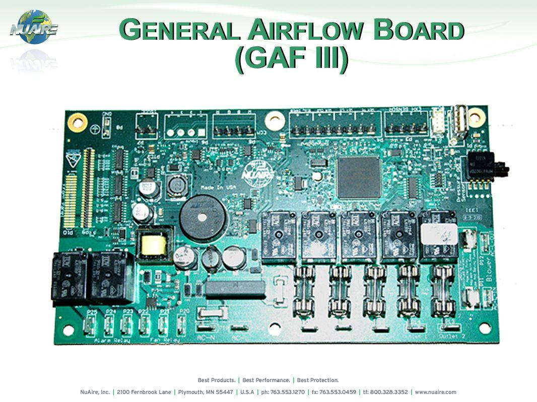 G ENERAL A IRFLOW B OARD (GAF III) G ENERAL A IRFLOW B OARD (GAF III)