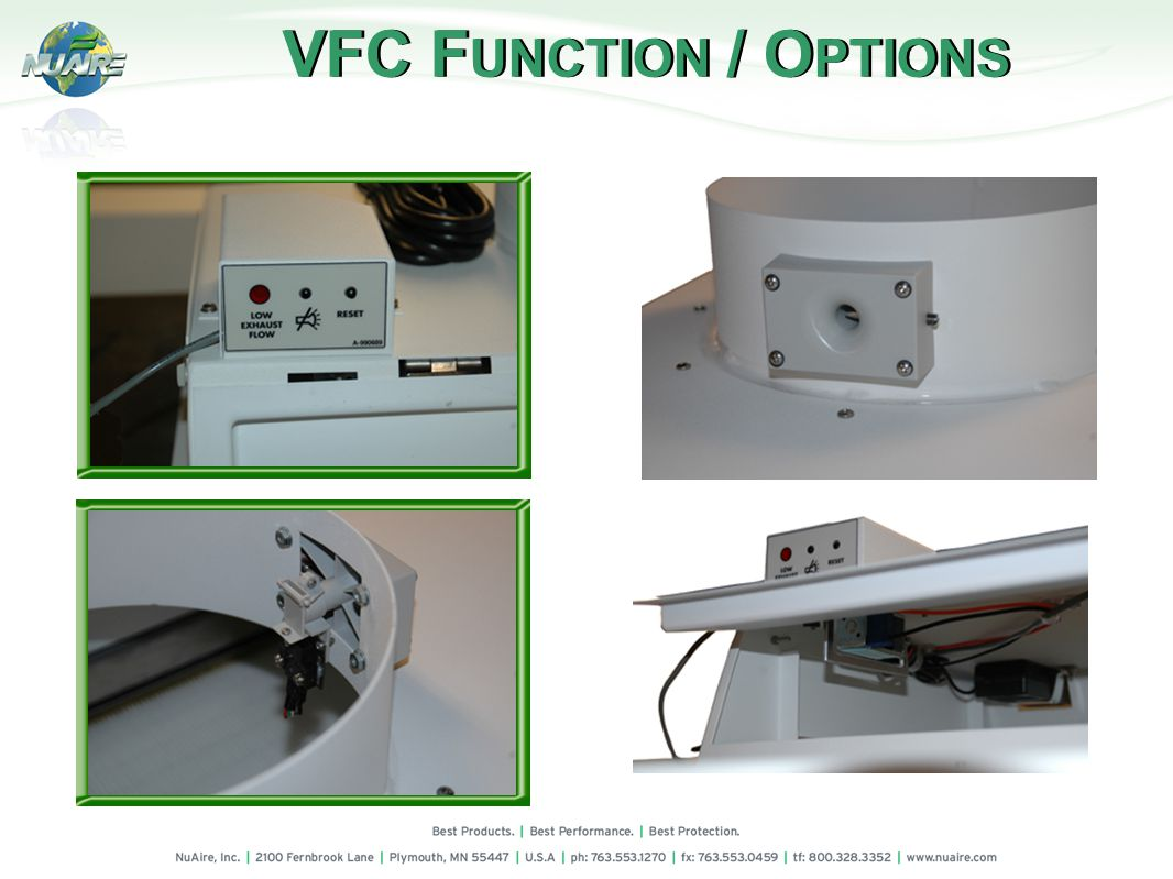 VFC F UNCTION / O PTIONS