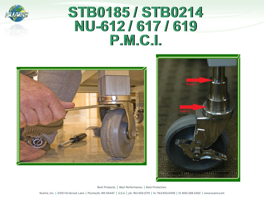 STB0185 / STB0214 NU-612 / 617 / 619 P.M.C.I.