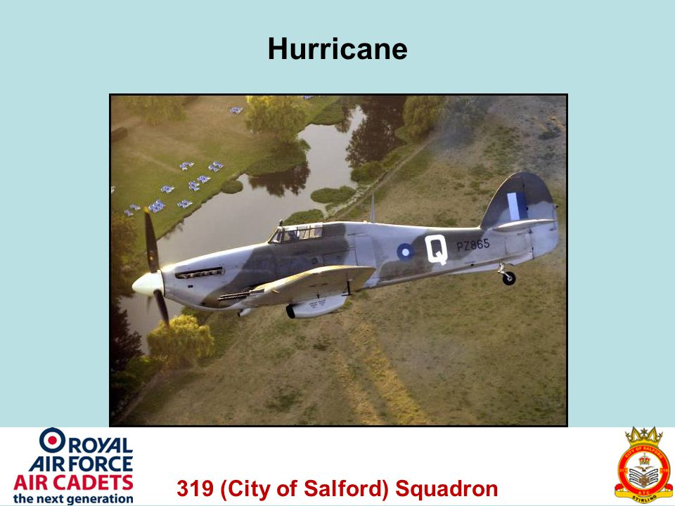 319 (City of Salford) Squadron Hurricane