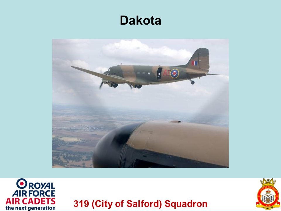319 (City of Salford) Squadron Dakota