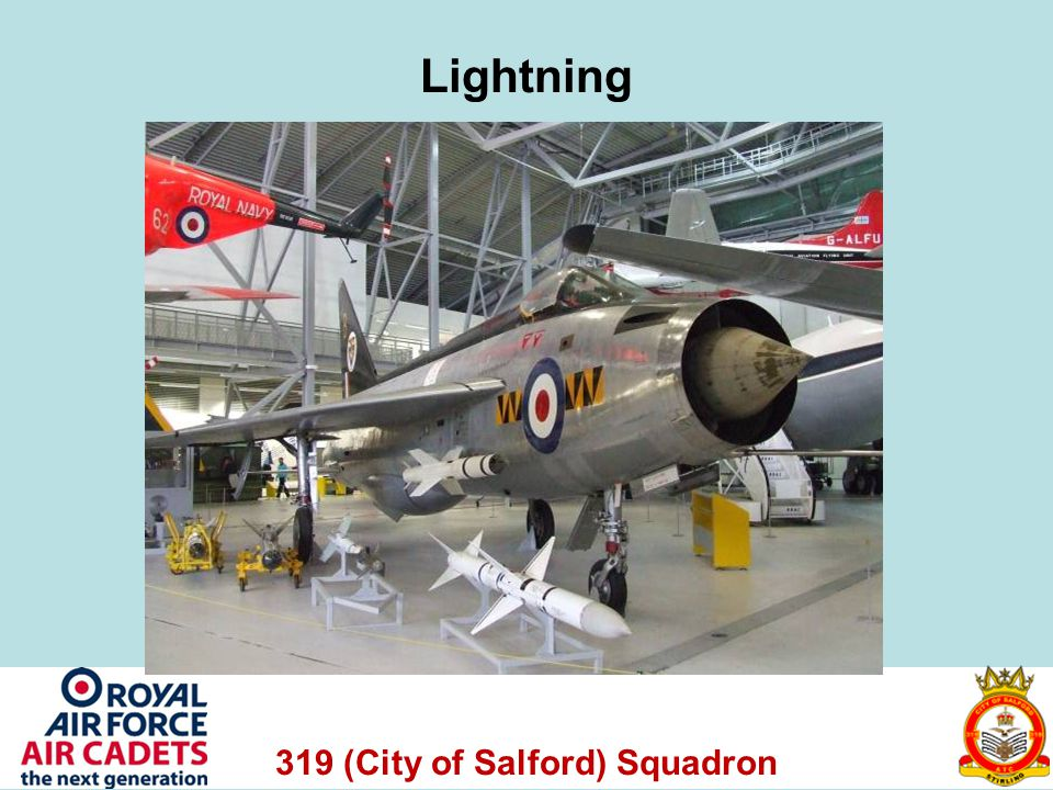 319 (City of Salford) Squadron Lightning