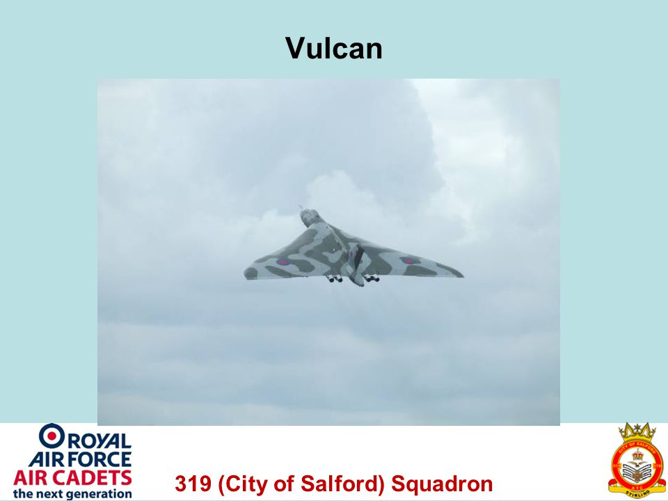 319 (City of Salford) Squadron Vulcan