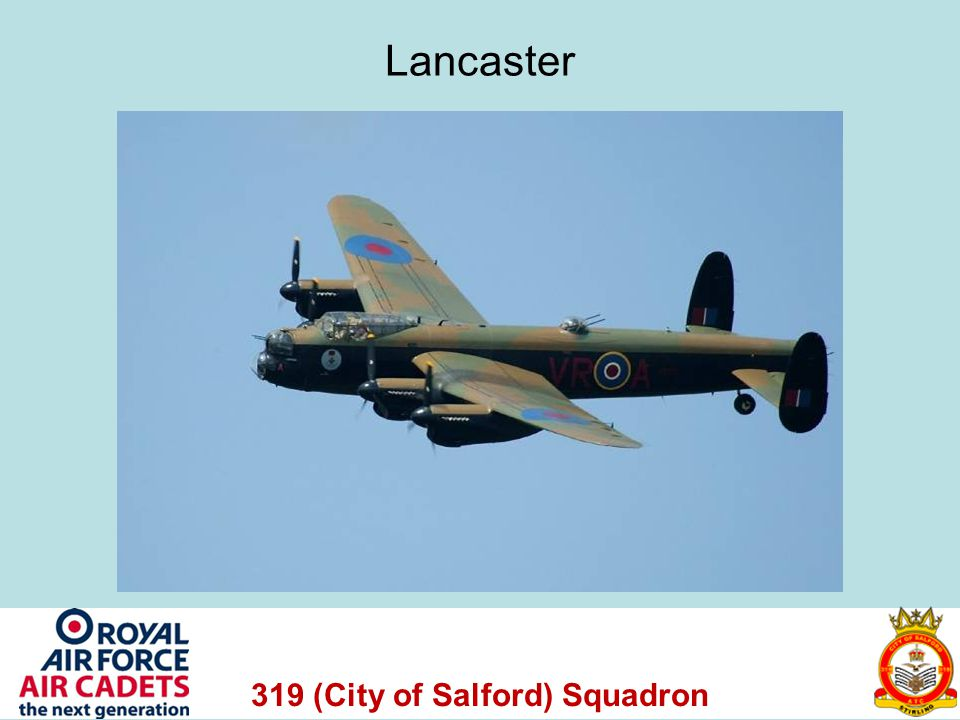 319 (City of Salford) Squadron Lancaster