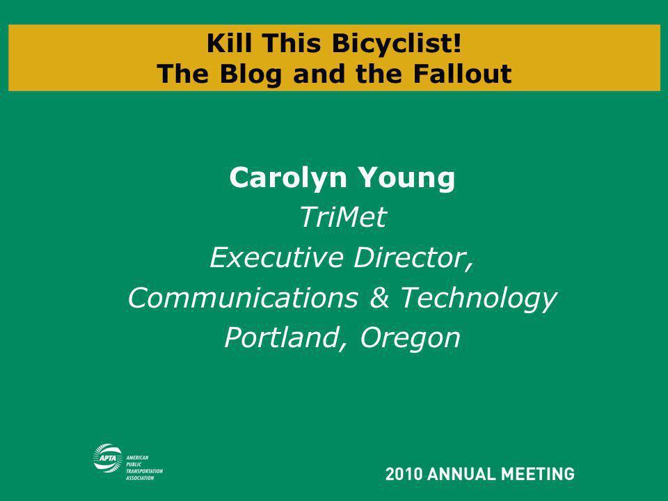 Kill This Bicyclist.