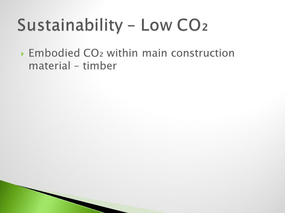 MPL buildings have a natural timber finish on both the internal and external walls.