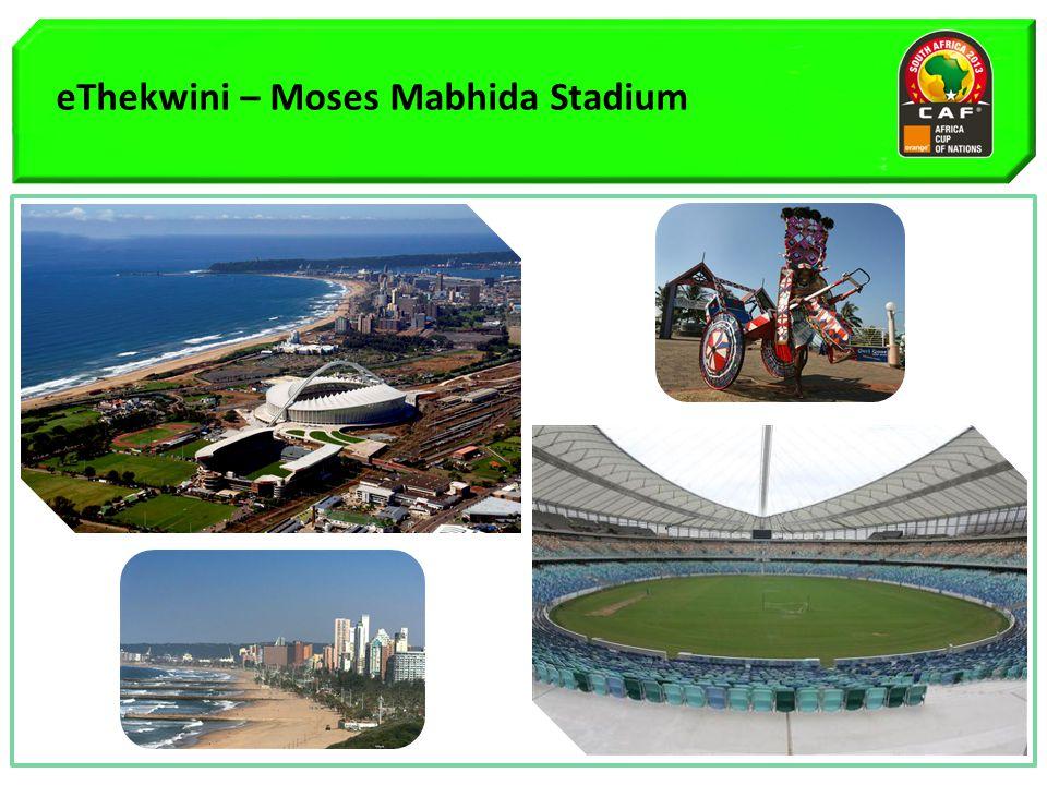 eThekwini – Moses Mabhida Stadium