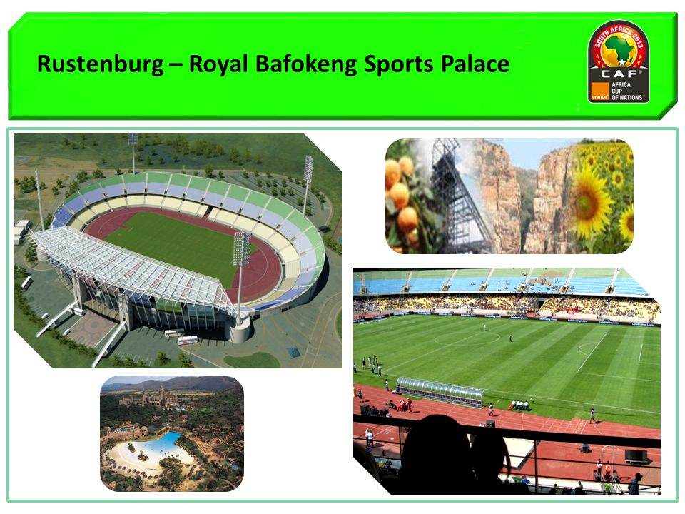 Rustenburg – Royal Bafokeng Sports Palace